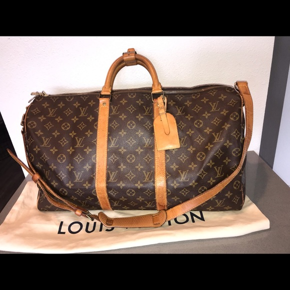 7c977d7a3aa58 Louis Vuitton Handbags - Authentic louis vuitton keepall 50 with strap bag